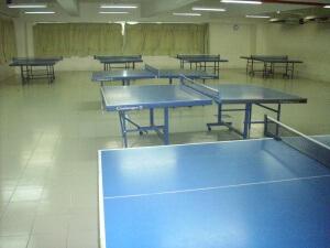 教学大楼乒乓室