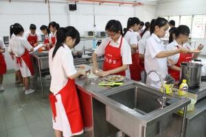 国字型大楼烹饪室